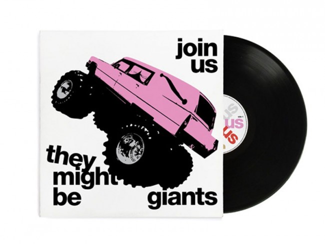 Cover artwork and video for Join Us by They Might Be Giants, New York, USA | Paul Sahre