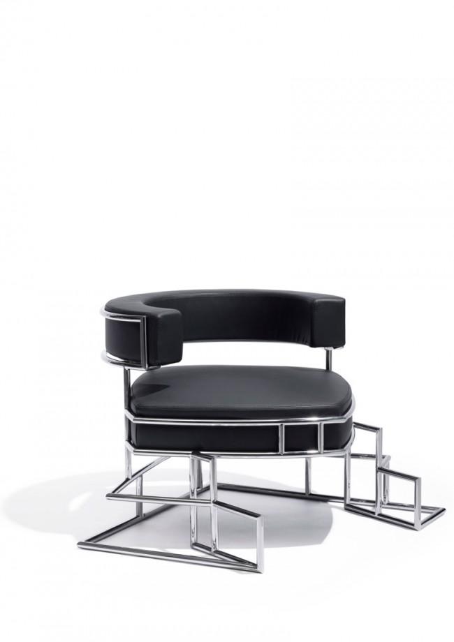 Daniel Libeskind, Armlehnsessel 'Torq', 2010, Sawaya & Moroni, Mailand (I), 2010