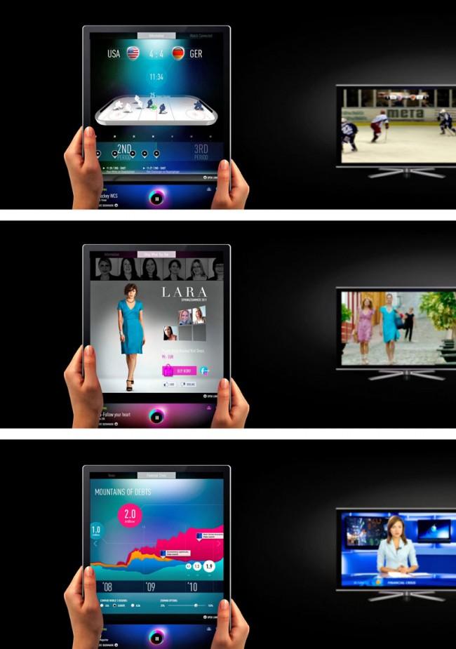 Product Interfaces: TV Experience Konzept GOAB; Syzygy, Bad Homburg