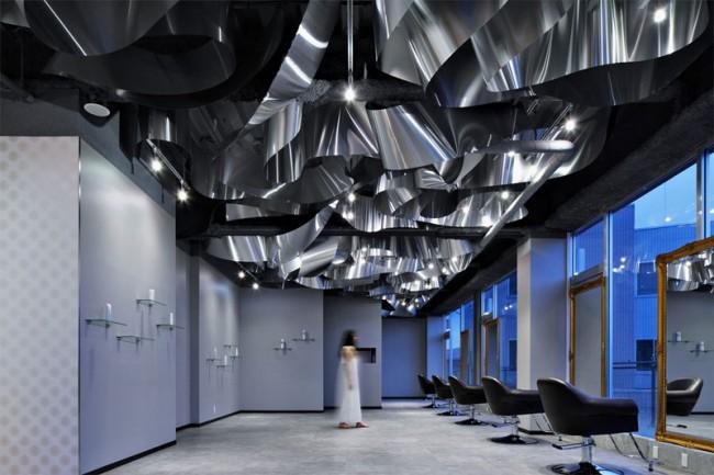 Corporate Architecture - Interior Design: ARKHE Beauty Salon; Moriyuki Ochiai Architects/Twoplus-A, Japan