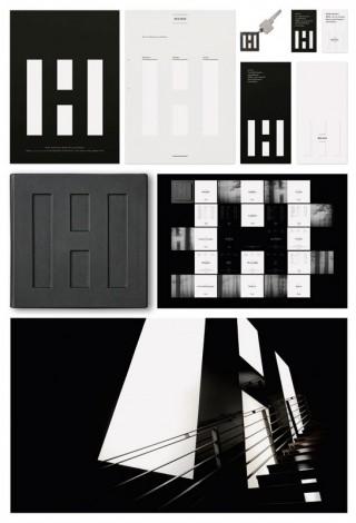 Crossmedia - Corporate Design: Hoch III; weissraum.dee(sign)