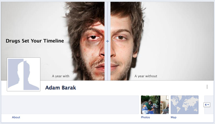 Bild Facebook Timeline anti-drugs