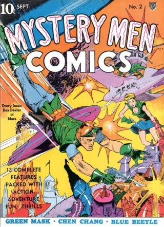 »Action! Mystery! Thrills! Comic Book Covers of the Golden Age 1933-45«