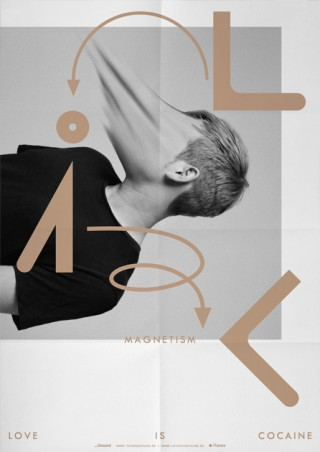 Visual Identity & Music Packaging for the Album MAGNETISM by LIC.