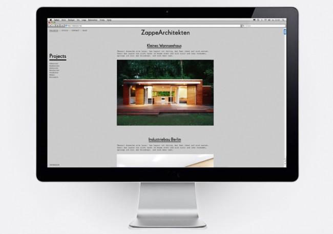 Visual Identity for Zappe Architekten