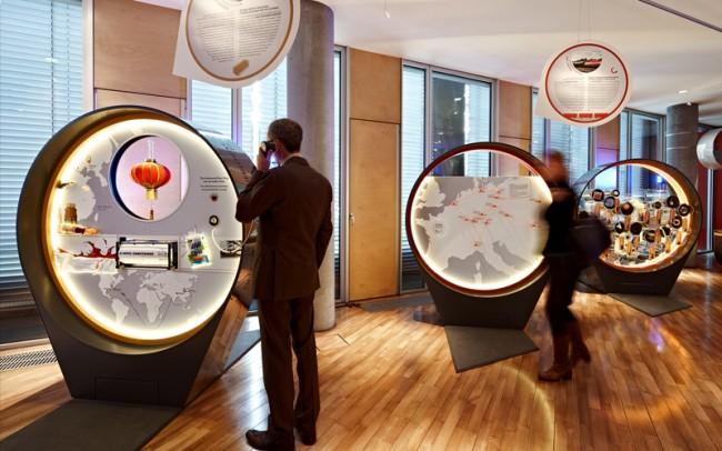 Jubiläumsausstellung »60 Jahre VTG« – drei interaktive Exponate für die Geschäftsbereiche