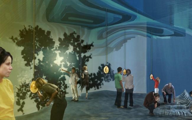 Der Weg zum Porzellan führt über das Meer – Entwurf »Geheimnisvolles China« für die Porzellanwelten Leuchtenburg.
