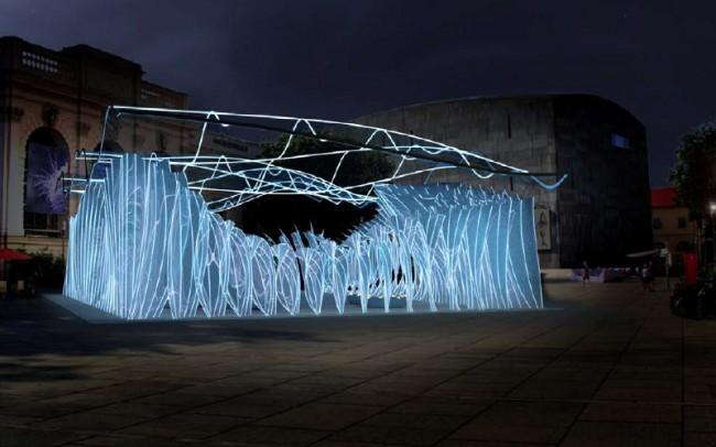 Parathetys Pavillon – das Ausstellungsprojekt »Parathetys submarines Wien« forscht nach urzeitlichen Spuren im Bild der Stadt.