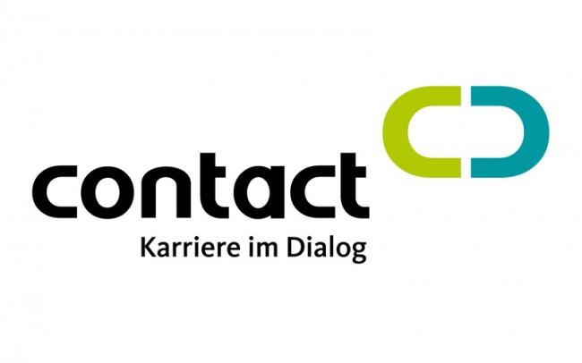 Corporate Design für das Weiterbildungsunternehmen Contact GmbH.