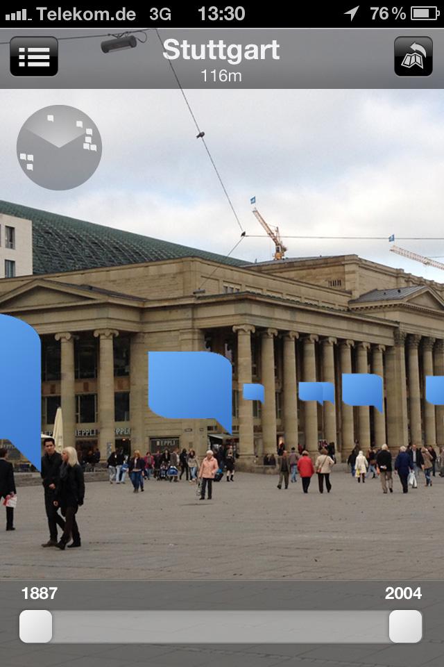 Ansicht Königsbau in Stuttgart