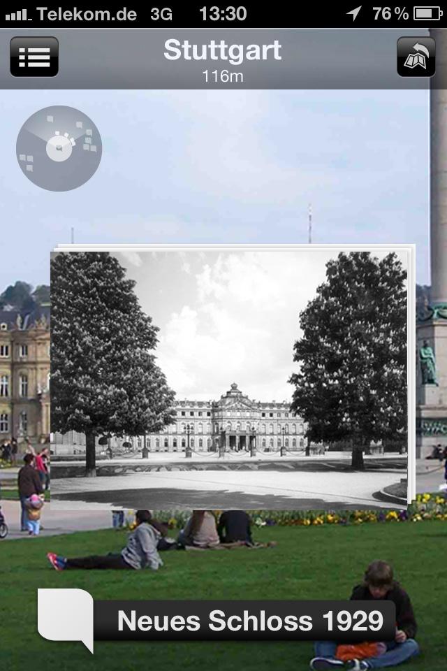 Ansicht Stuttgarter Schlossplatz