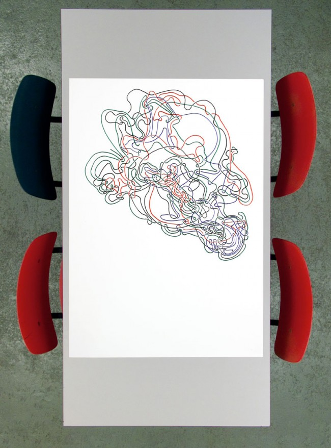 Knots , poster from the Conditional Design workshop series