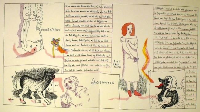 Barbara Fahrner: Rotkäppchen