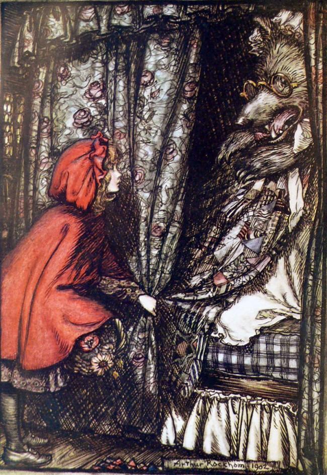 Illustration von Arthur Rackham