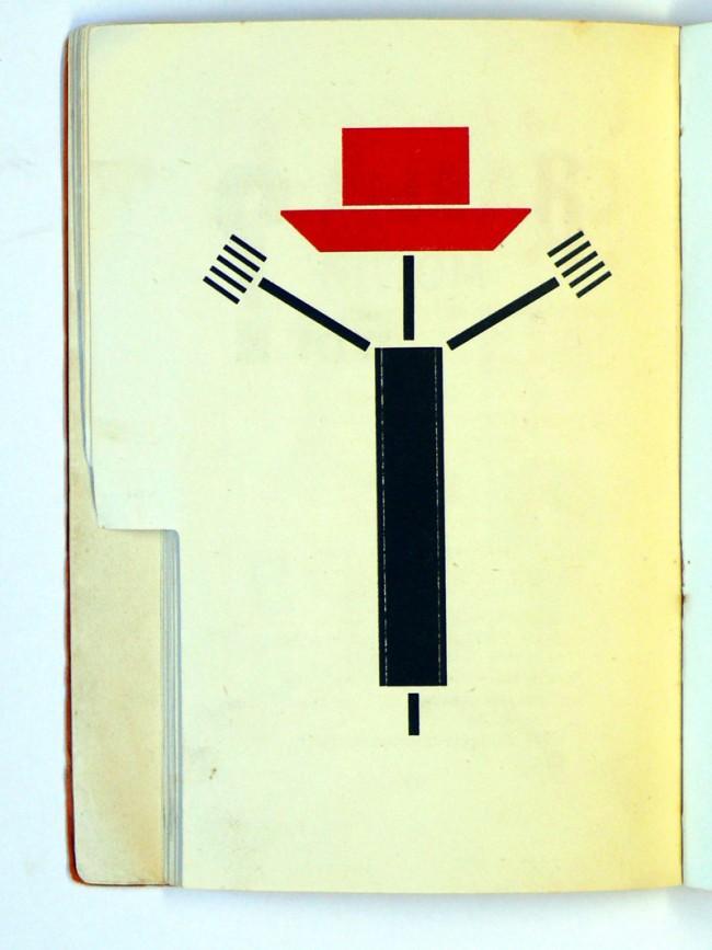 Rotkäppchen-Interpretation von El Lissitzky