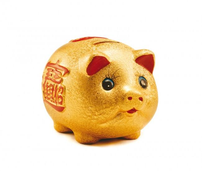 Das goldende Sparschwein