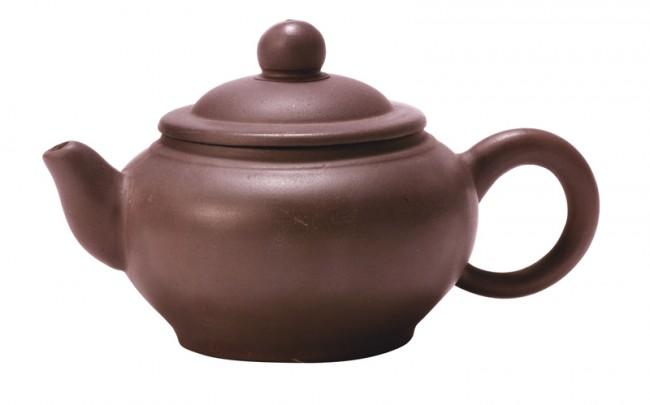 Purpursand-Teekanne