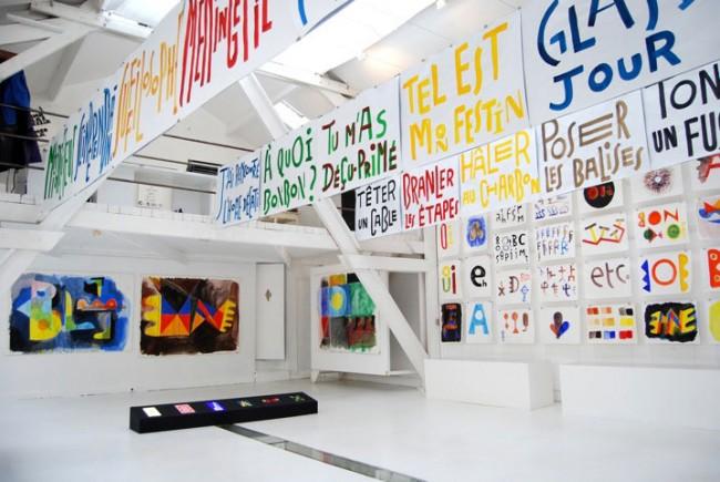 Ausstellungsansicht Galerie Anatome