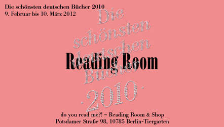 Bild Reading Room Schoenste deutsche Buecher