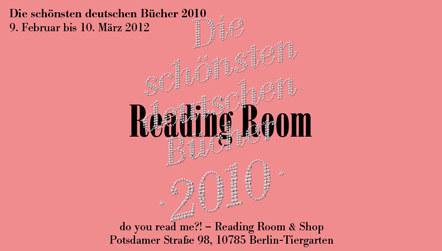 Bild Reading Room Schoenste deutsche Buecher