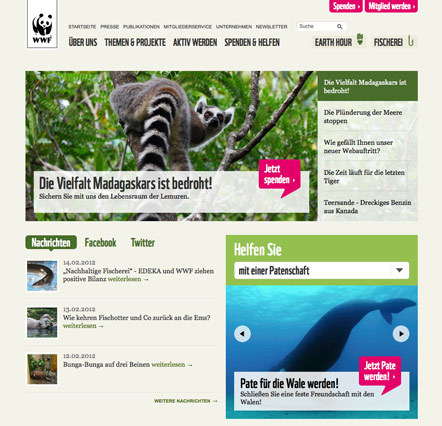 Bild WWF Website