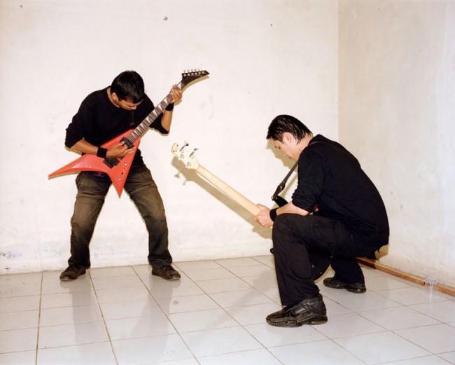 Sofyan and Oki, Death Vomit, Unlogic Scream 3, Salatiga, Indonesia, February 2010, 90 x 112,5 cm