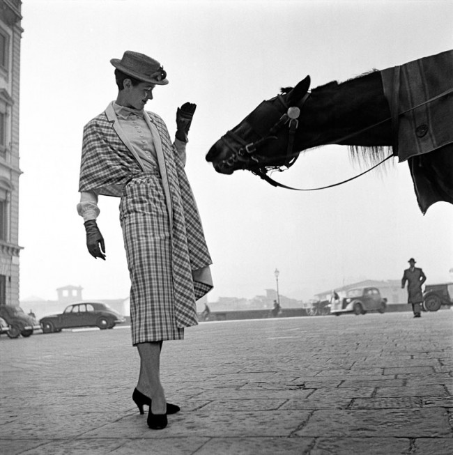 First Fashion Photograph,  Florence, 1951