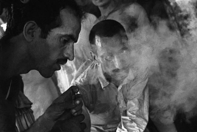 Lahore hashish smokers