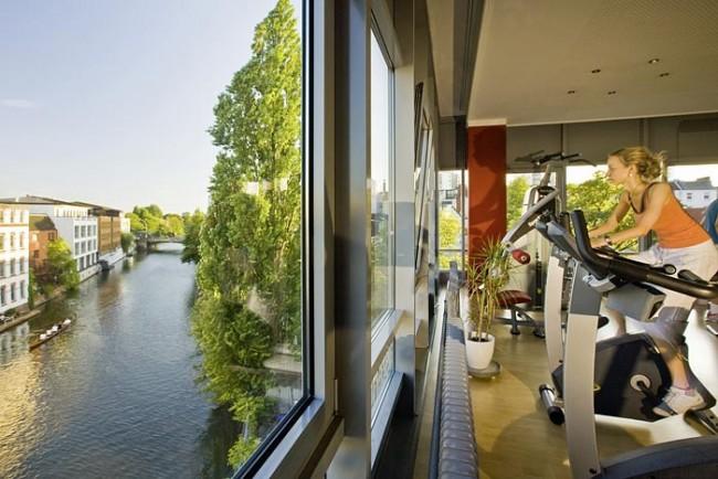 Fitnesscenter Alsterloft in der Gertigstrasse am Osterbekkanal