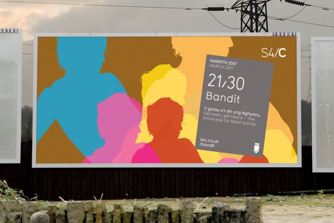 S4C Bandit billboard