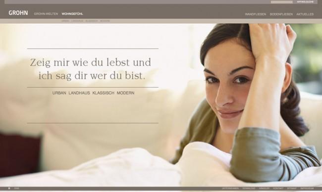 Die Webseite: »Wohngefühl«