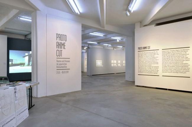 Grafische Gestaltung der Ausstellung »Proto Anime Cut« im Künstlerhaus Bethanien, Berlin