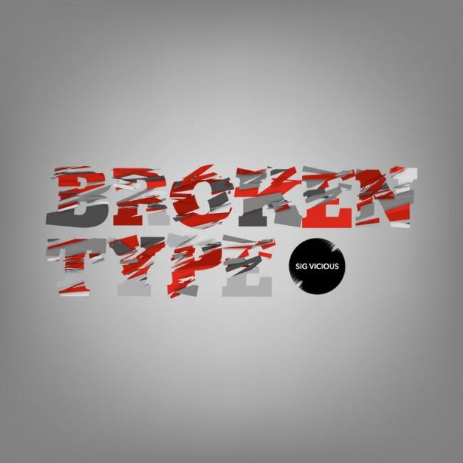 Broken Type is a Remix Handset Typeface