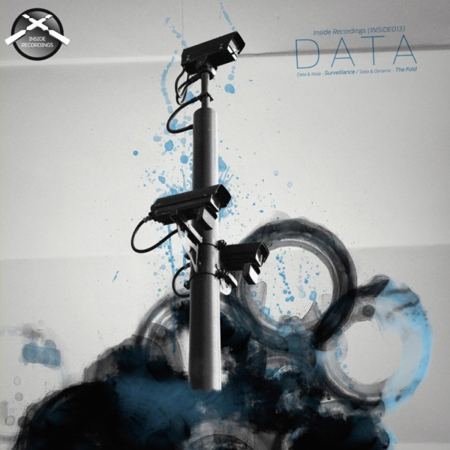 Vinyl sleeve for Drum & Bass artist Data