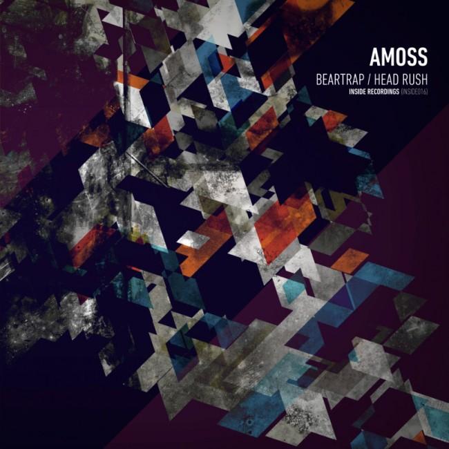 Vinyl sleeve for Drum & Bass artist Amoss