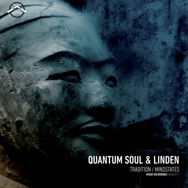 Vinyl sleeve for Drum & Bass artist Quantum Soul & Linden