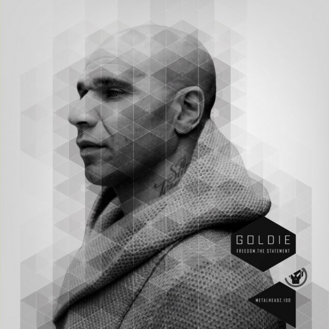 Cover for the boss of DNB, Goldie
