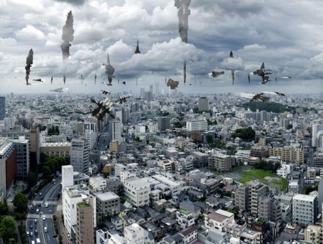 Pilots occupy the Tokyo sky