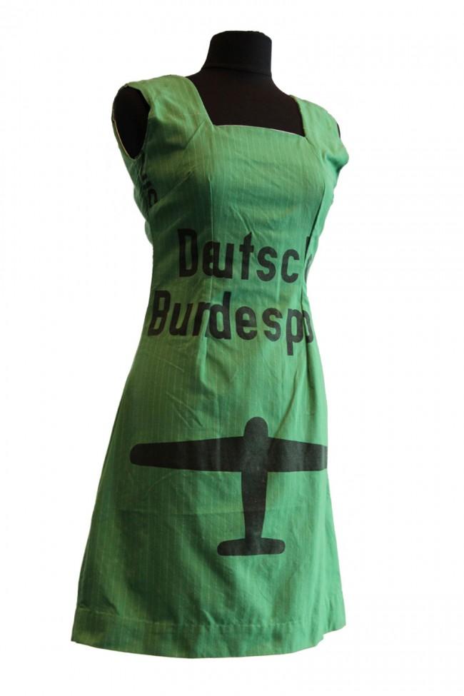 Deutsche Bundespost-Kleid