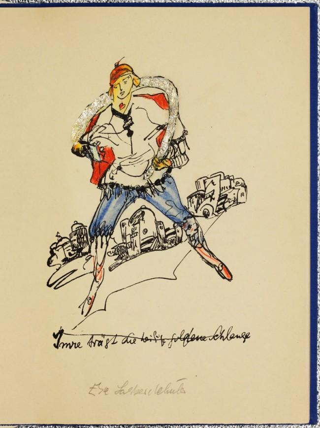 Else Lasker-Schüler (*Elberfeld1869 - Jerusalem 1945), Theben 1923