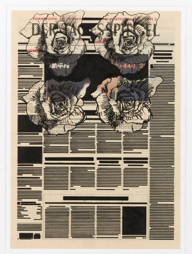 Angus Fairhurst: Unwritten [Mittwoch], 2001, Copyright the Estate of Angus Fairhurst, Courtesy Sadie Coles HQ, London