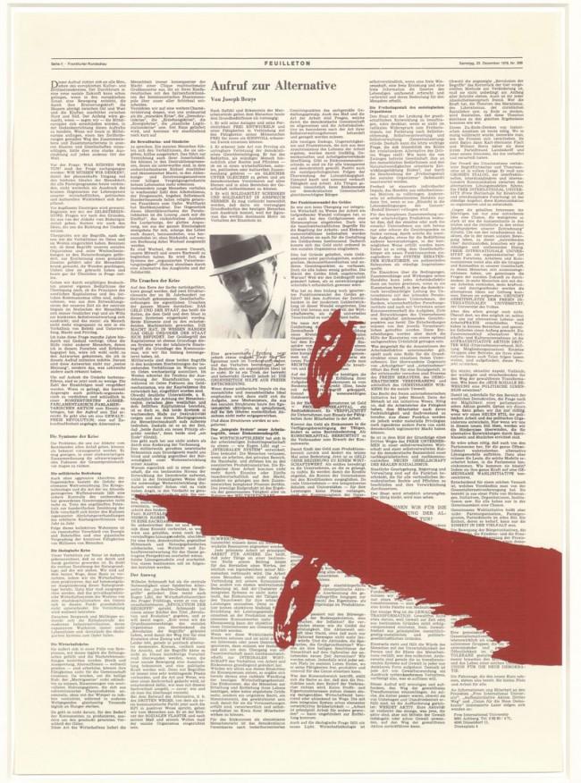Joseph Beuys: Doppelpferd, 1978, Sammlung Deutsche Bank