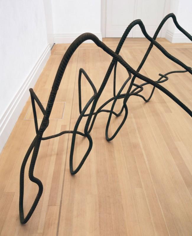 Ai Weiwei: Untitled, 2011, Armierstahl, Privatbesitz des Künstlers, Foto: Stefan Korte