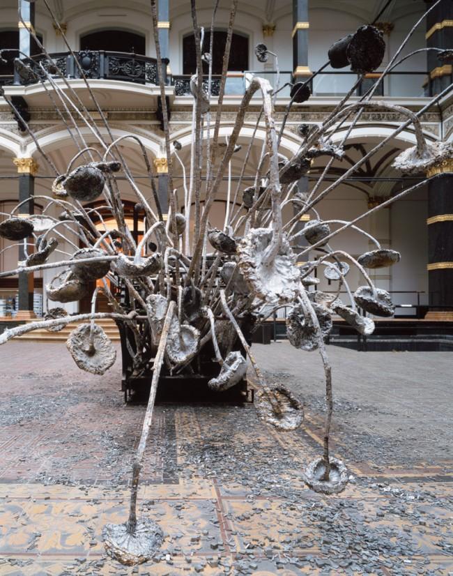 Installation View | Anselm Kiefer: Die Buchstaben, 2012, Foto: Stefan Korte