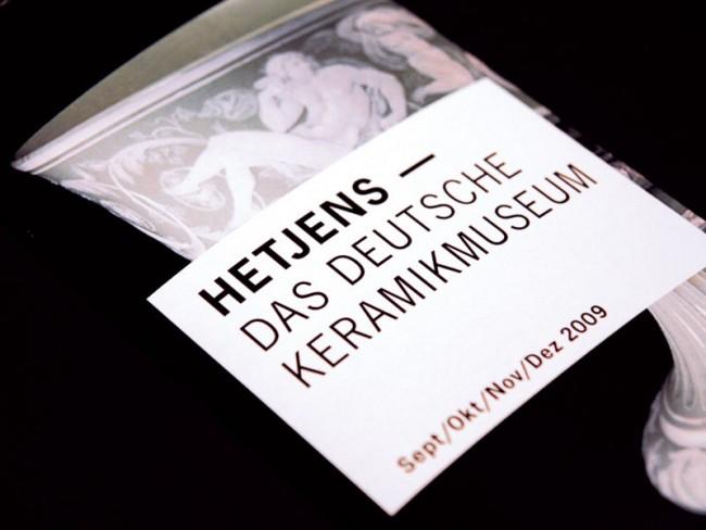 Hetjens | Forschungsauftrag zur Neugestaltung der Printmedien des Keramikmuseums