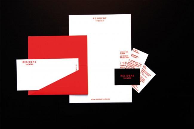 Corporate Identity und Programmhefte für das Residenztheater in München | Herburg Weiland
