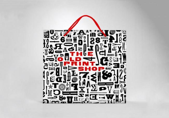 Rebranding der Kunstgalerie The Old Print Shop | Christine Aaron