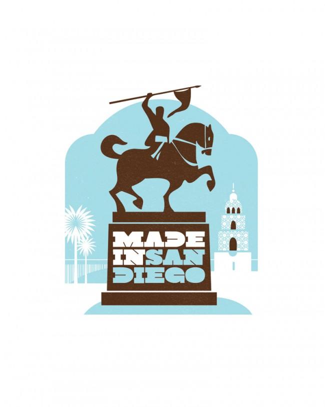 Illustration für den Tourismuswettbewerb »Made in San Diego« | Lift