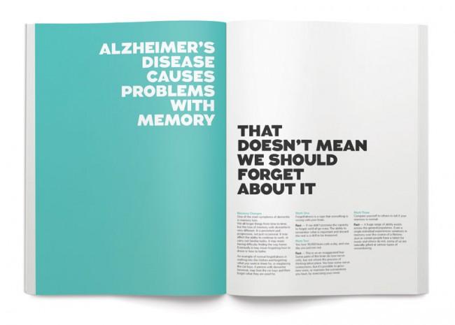 Corporate Identity für die Organisation Alzheimer Australia | Interbrand Australia