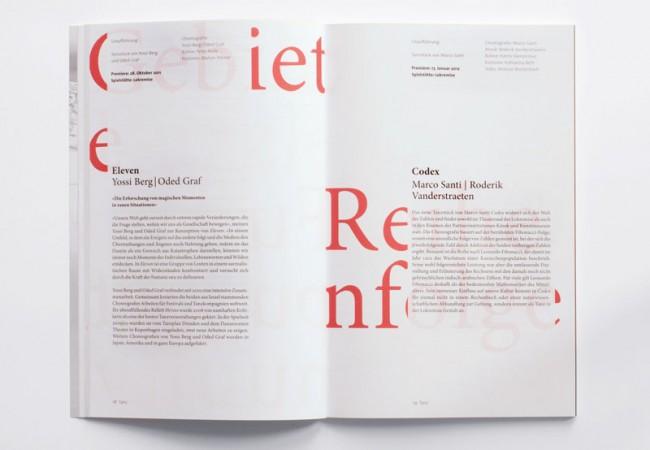 Visuelles Konzept für das Jahresprogramm des Theater St. Gallen | TGG